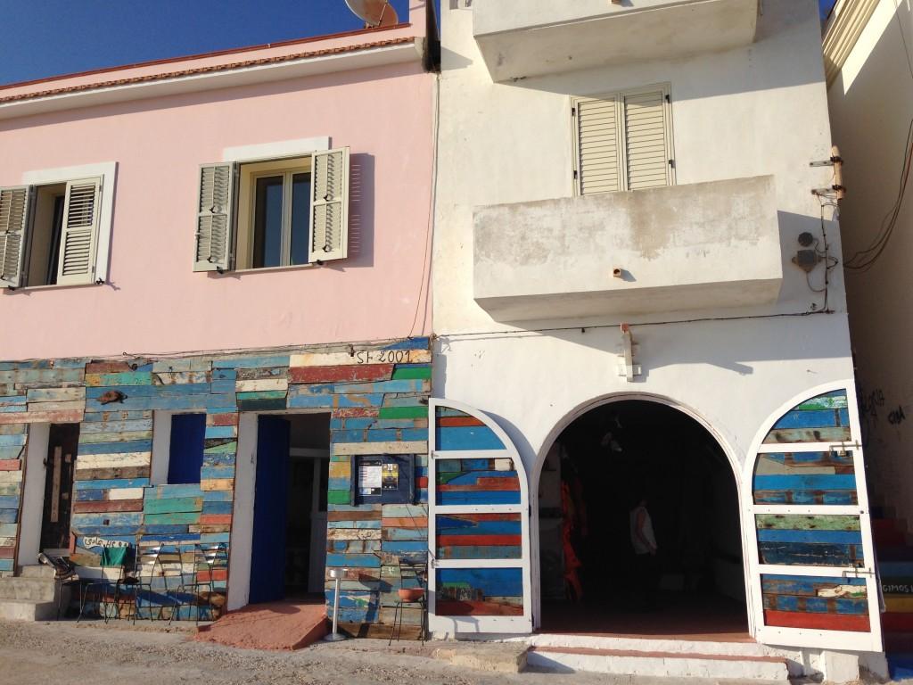 Façade de Porto M, Lampedusa (@P. Cuttitta)