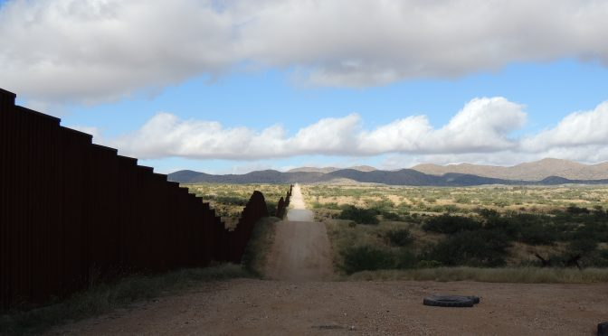 """Samuel Norton Chambers, Geoffrey Alan Boyce, Sarah Launius & Alicia Dinsmore, Mortality, Surveillance and the Tertiary """"Funnel Effect"""" on the U.S.-Mexico Border: A Geospatial Modeling of the Geography of Deterrence, Journal of Borderlands Studies, 31 Jan 2019"""